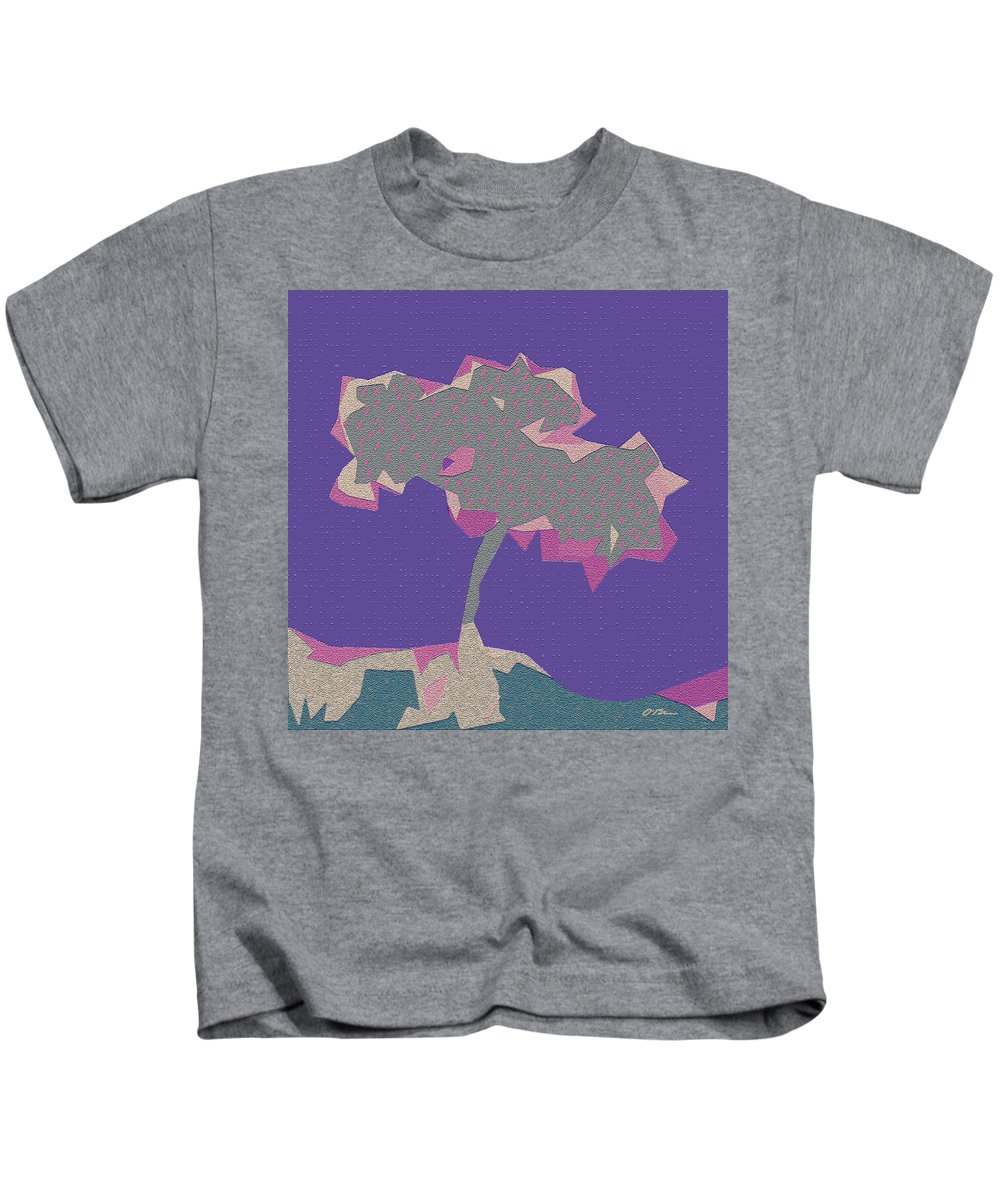 Tree Kids T-Shirt featuring the photograph The Quilted Rain Tree At Ramona by Claudia O'Brien