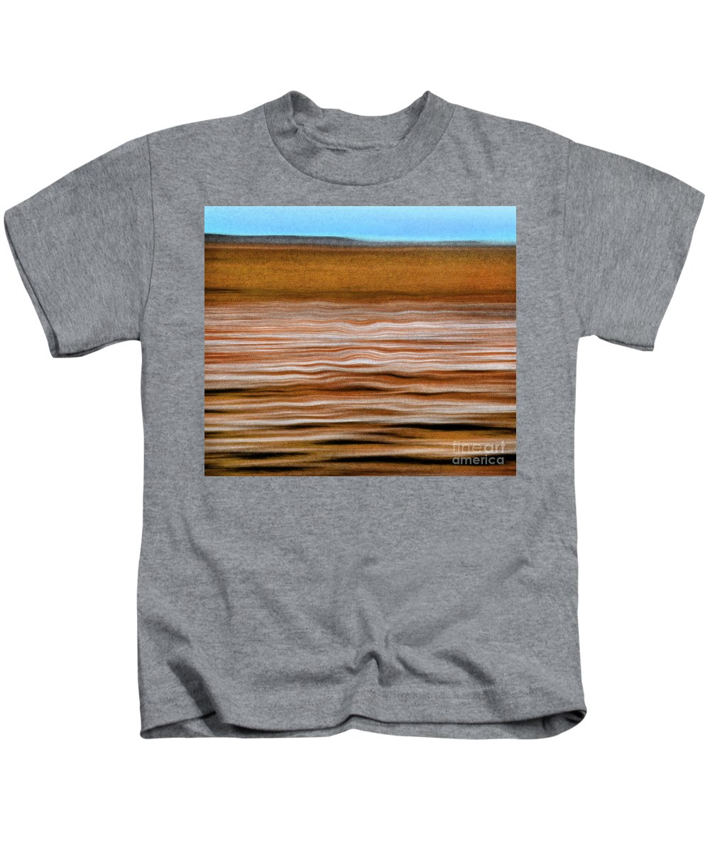 Ocean Kids T-Shirt featuring the photograph The Rust Brown Pacific by Michael Ziegler