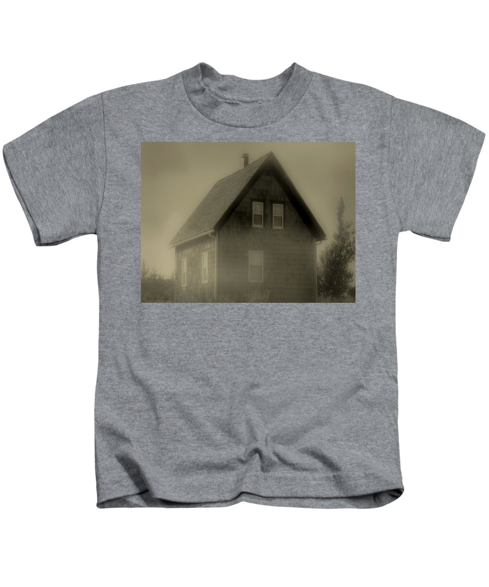 Landscape Kids T-Shirt featuring the photograph The Shroud by RC DeWinter