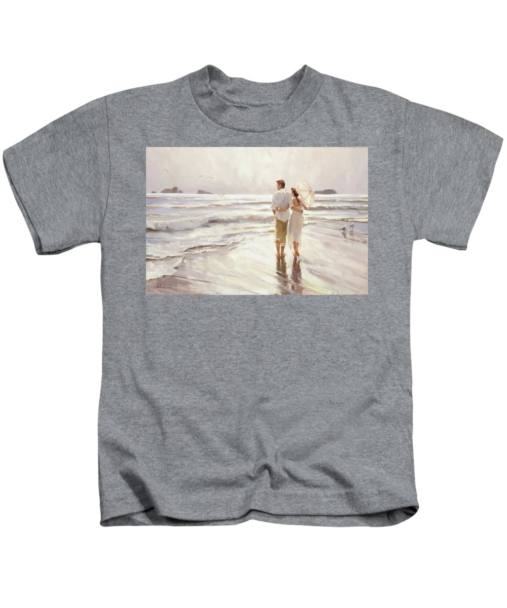 Love Kids T-Shirt featuring the painting The Way That It Should Be by Steve Henderson