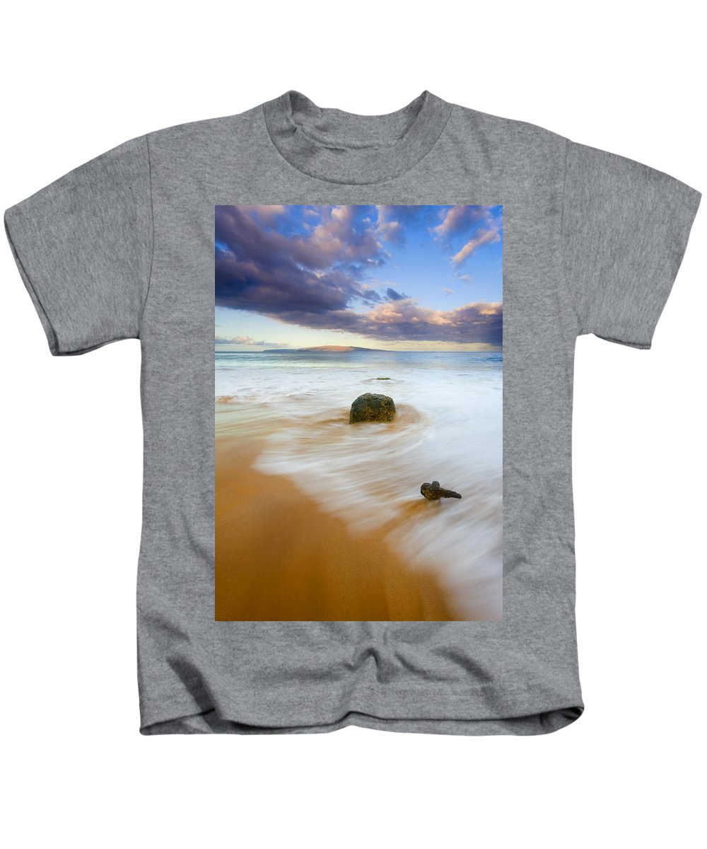 Maui Kids T-Shirt featuring the photograph Tied To The Past by Mike Dawson