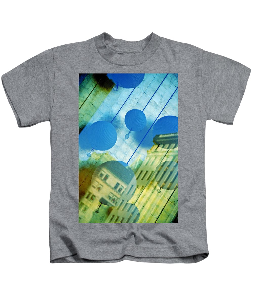 New York Kids T-Shirt featuring the photograph Tiffanys by Skip Hunt