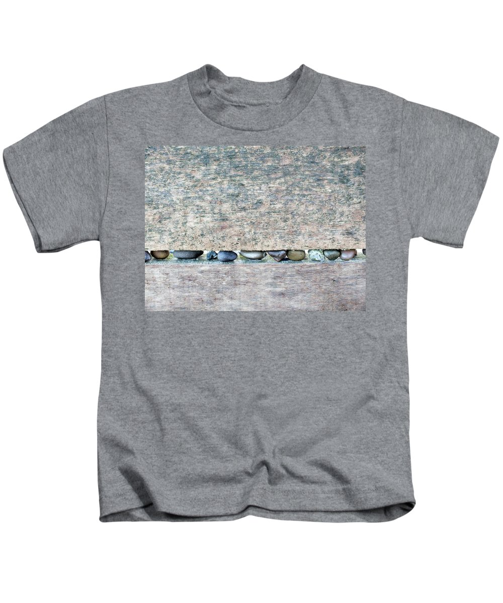 Weathered Kids T-Shirt featuring the photograph Time On The Beach 2 by Emma Manners