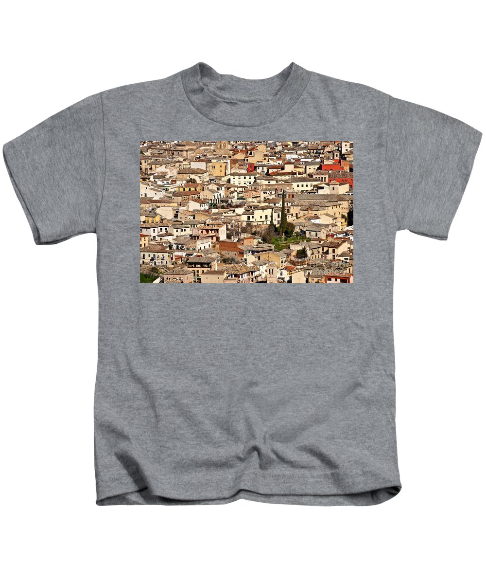 Spain Kids T-Shirt featuring the photograph Toledo Spain by John Greim