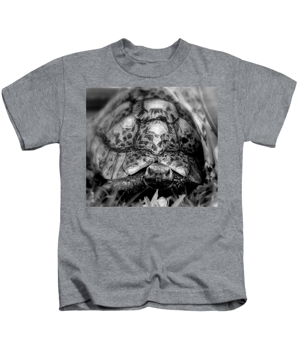 Tortalicious Kids T-Shirt featuring the photograph Tortalicious by Ed Smith