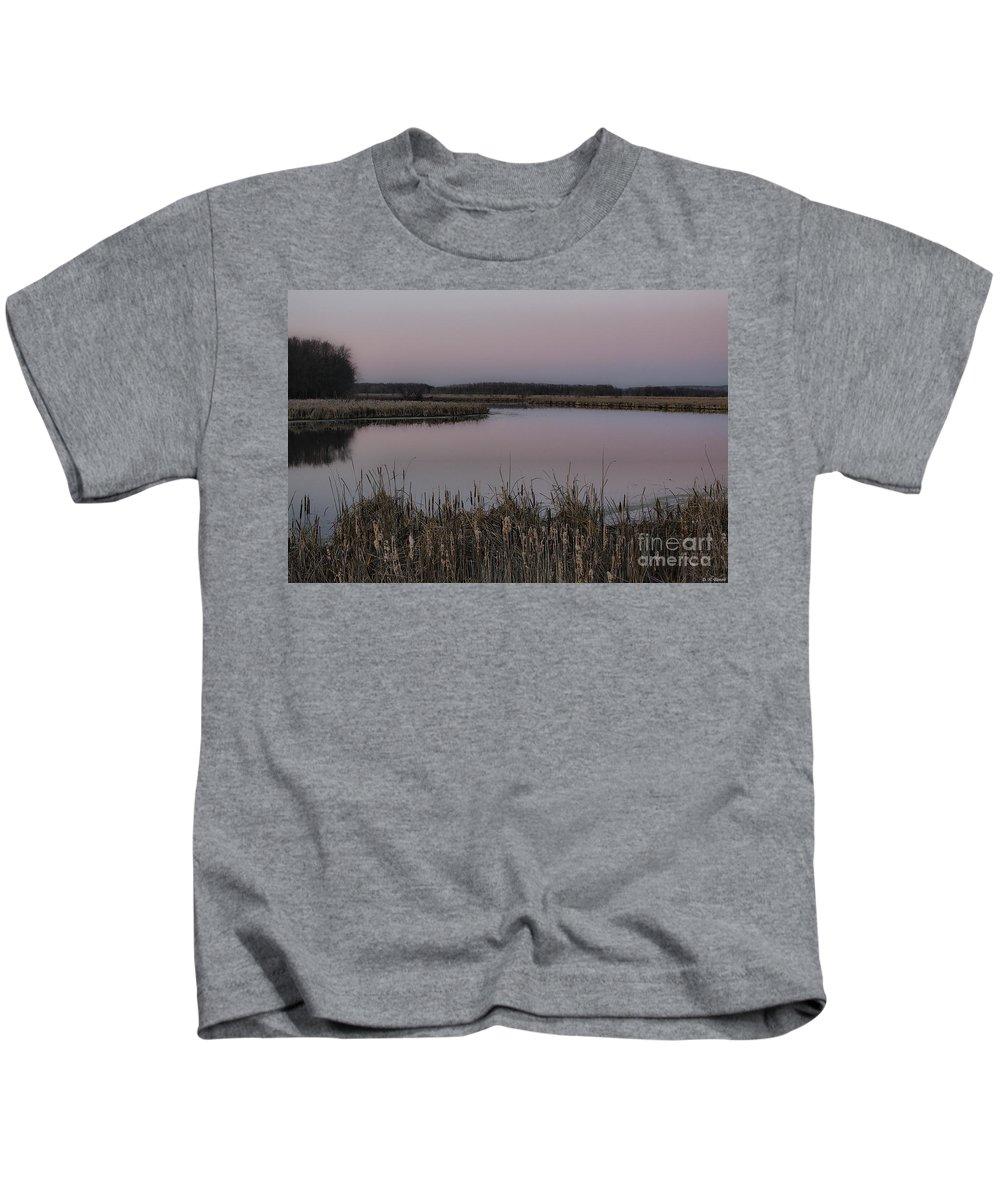 Light Kids T-Shirt featuring the photograph Total Peace And Calm by Deborah Benoit