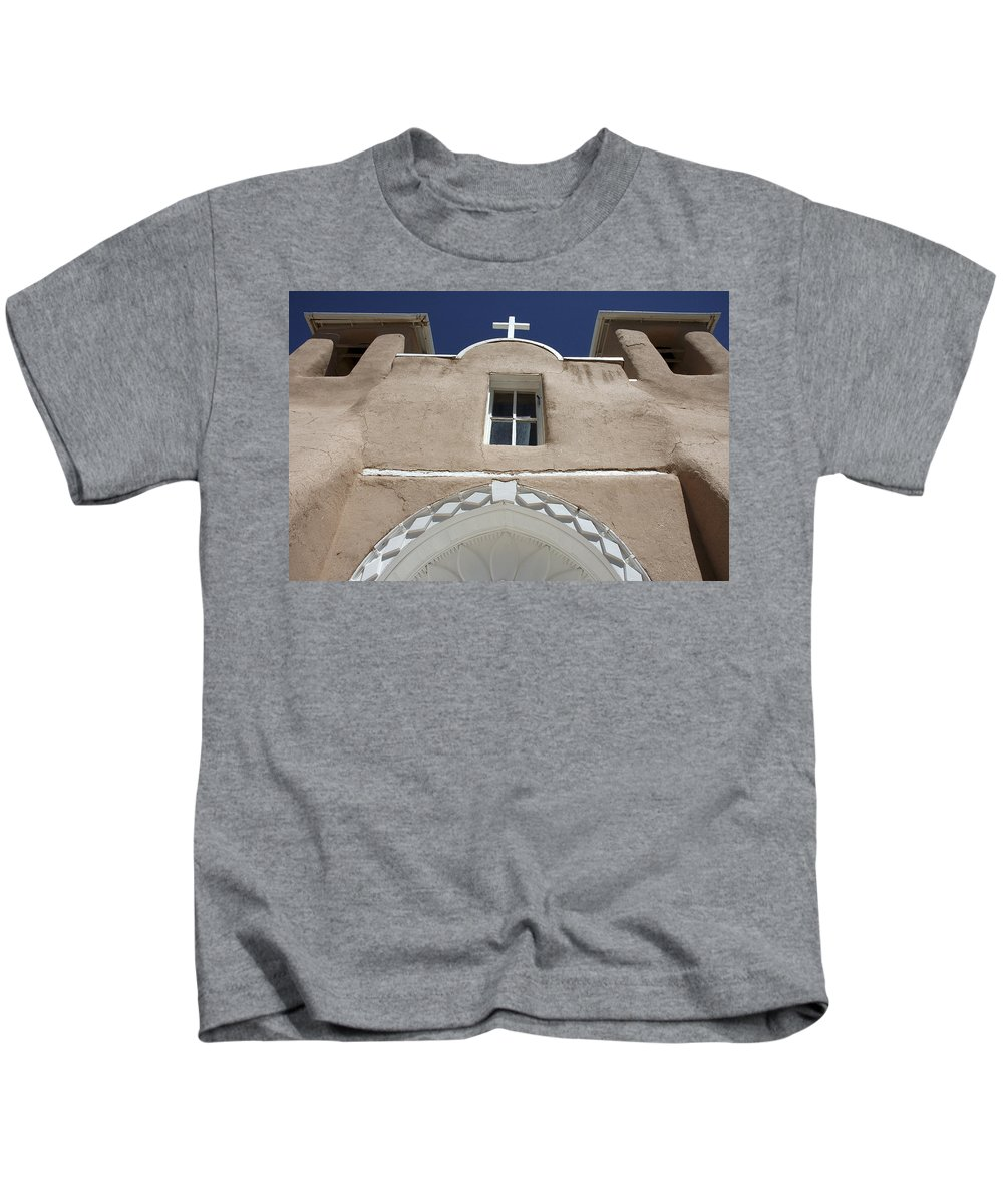 Church Kids T-Shirt featuring the photograph Toward Heaven by Jerry McElroy