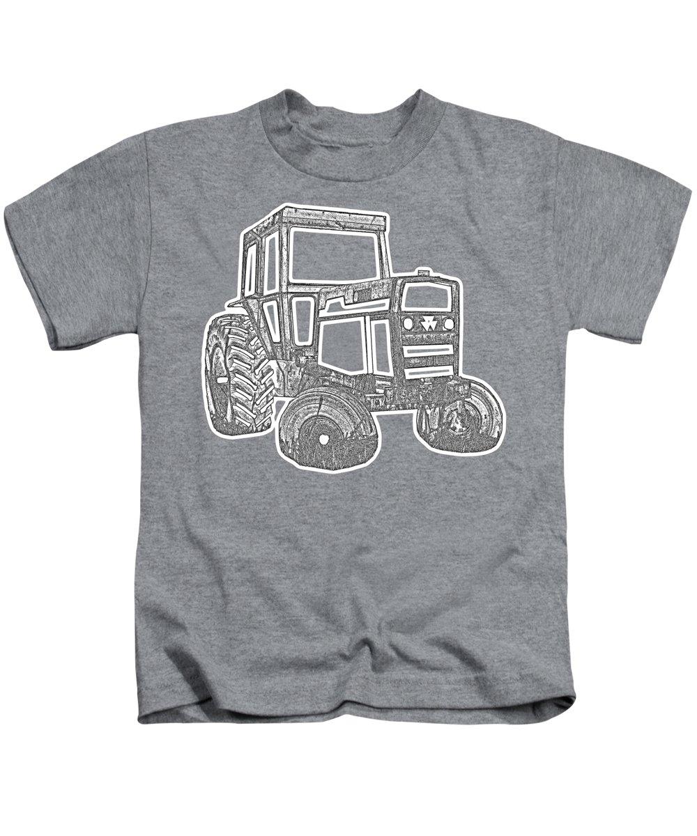 New England Barn Photographs Kids T-Shirts