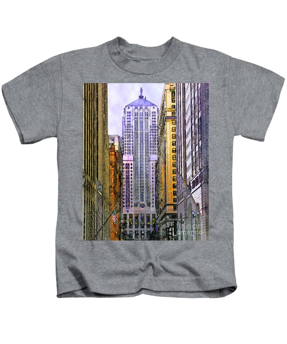 Trading Places Kids T-Shirt featuring the digital art Trading Places by John Beck
