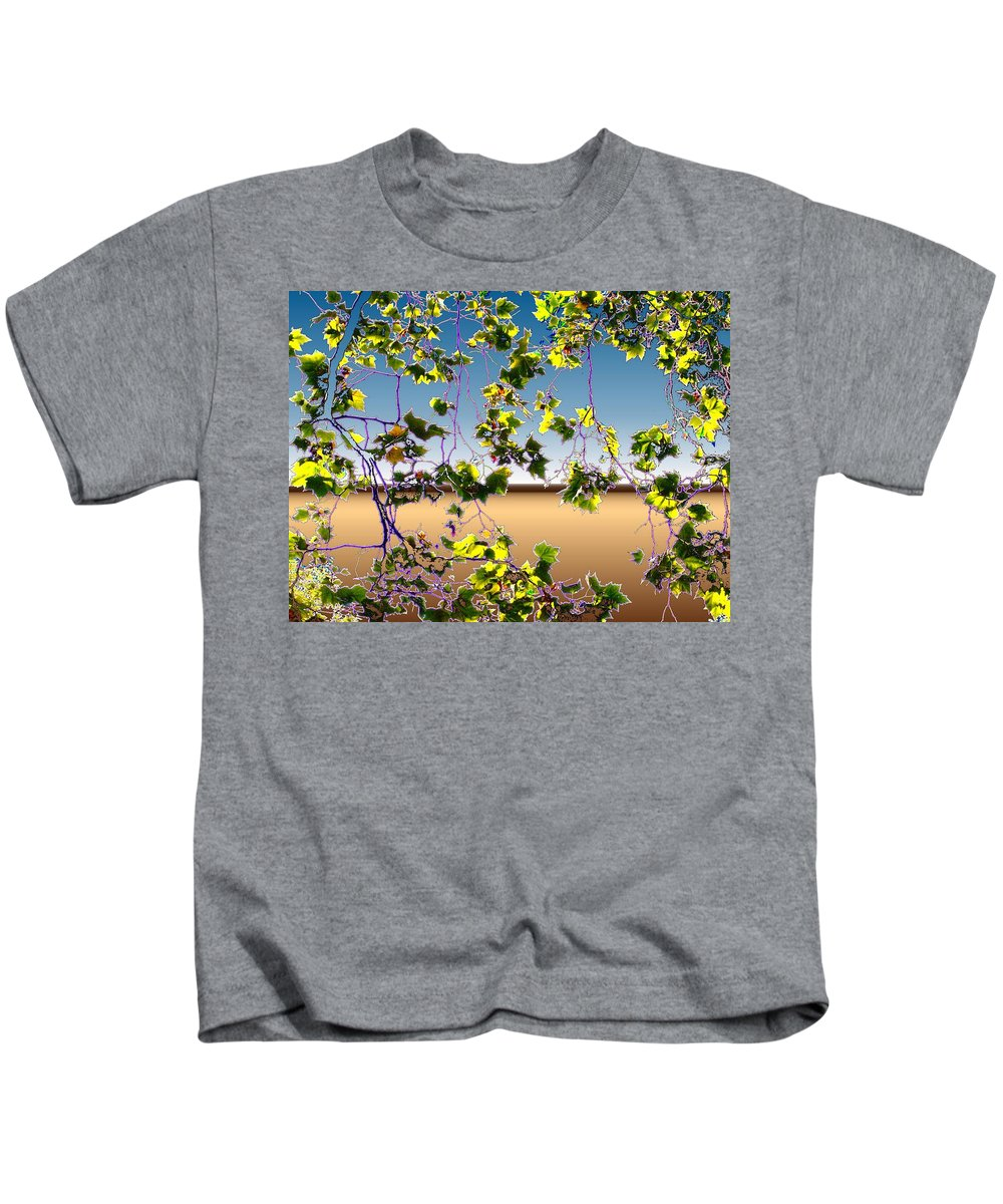 Tree Kids T-Shirt featuring the photograph Tree Leaves by Tim Allen