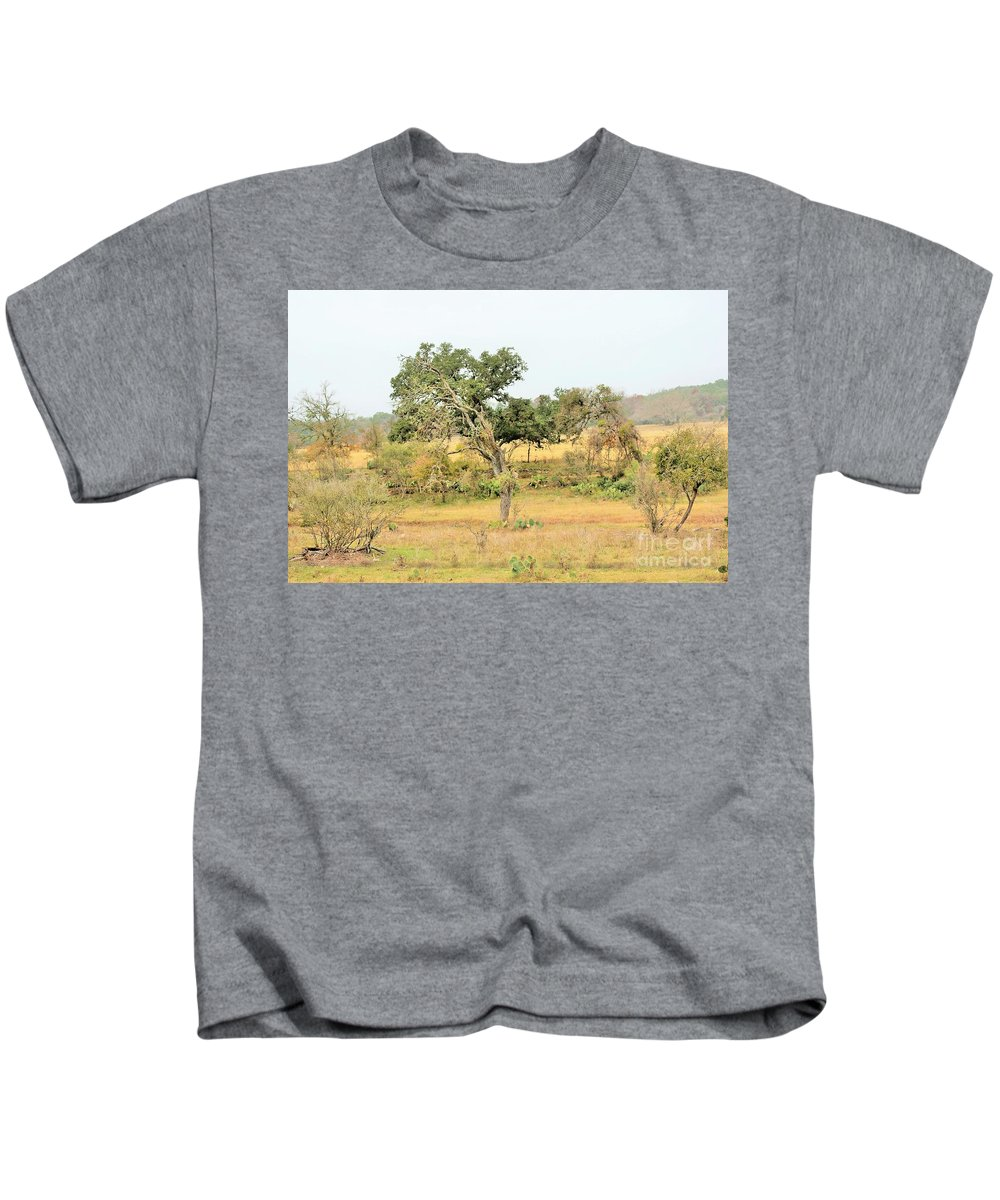 Kids T-Shirt featuring the photograph Trees 015 by Jeff Downs
