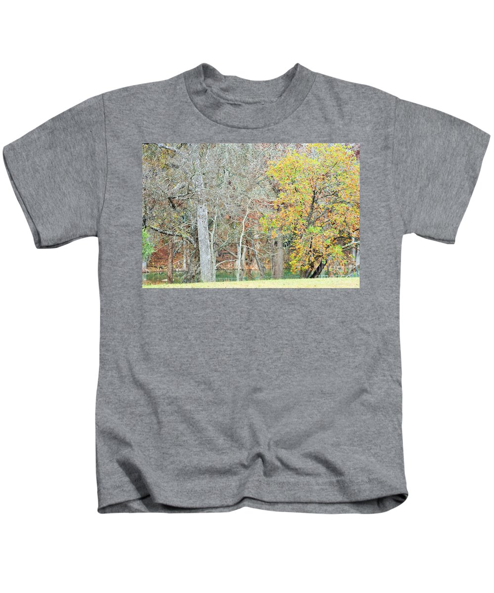 Kids T-Shirt featuring the photograph Trees 024 by Jeff Downs