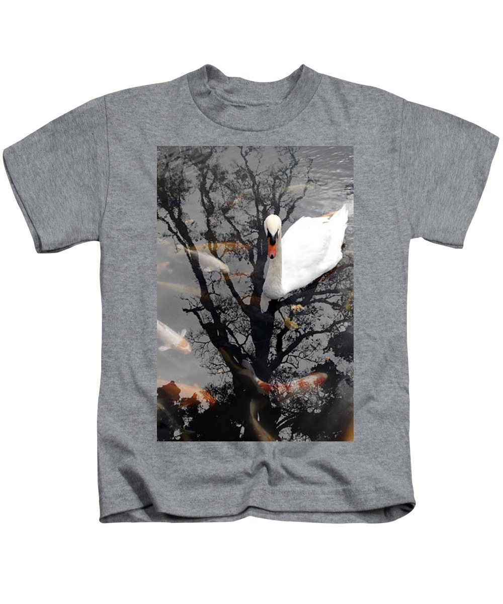Water Kids T-Shirt featuring the photograph Trees In Japan 7 by George Cabig