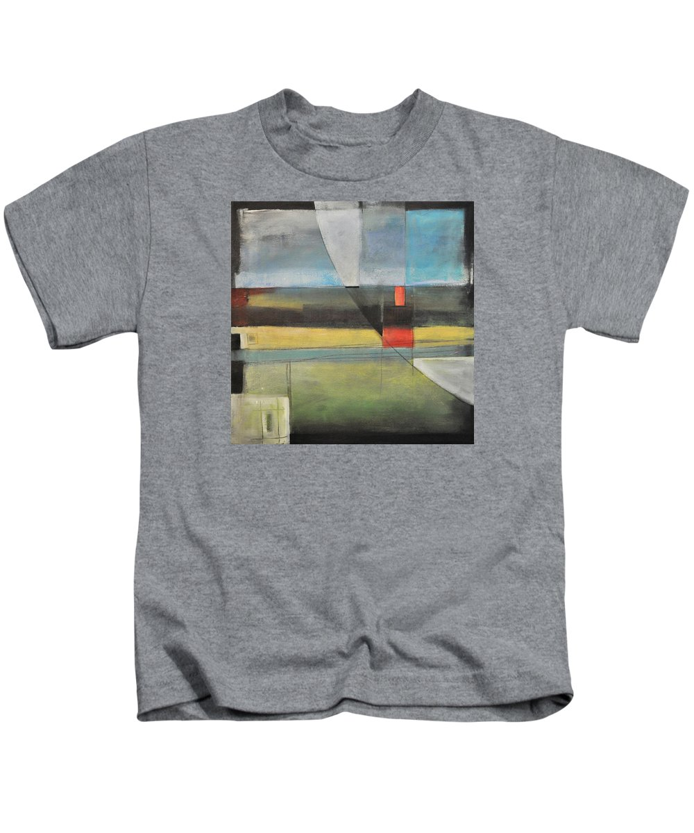 Harvest Kids T-Shirt featuring the painting Twilight Harvest by Tim Nyberg
