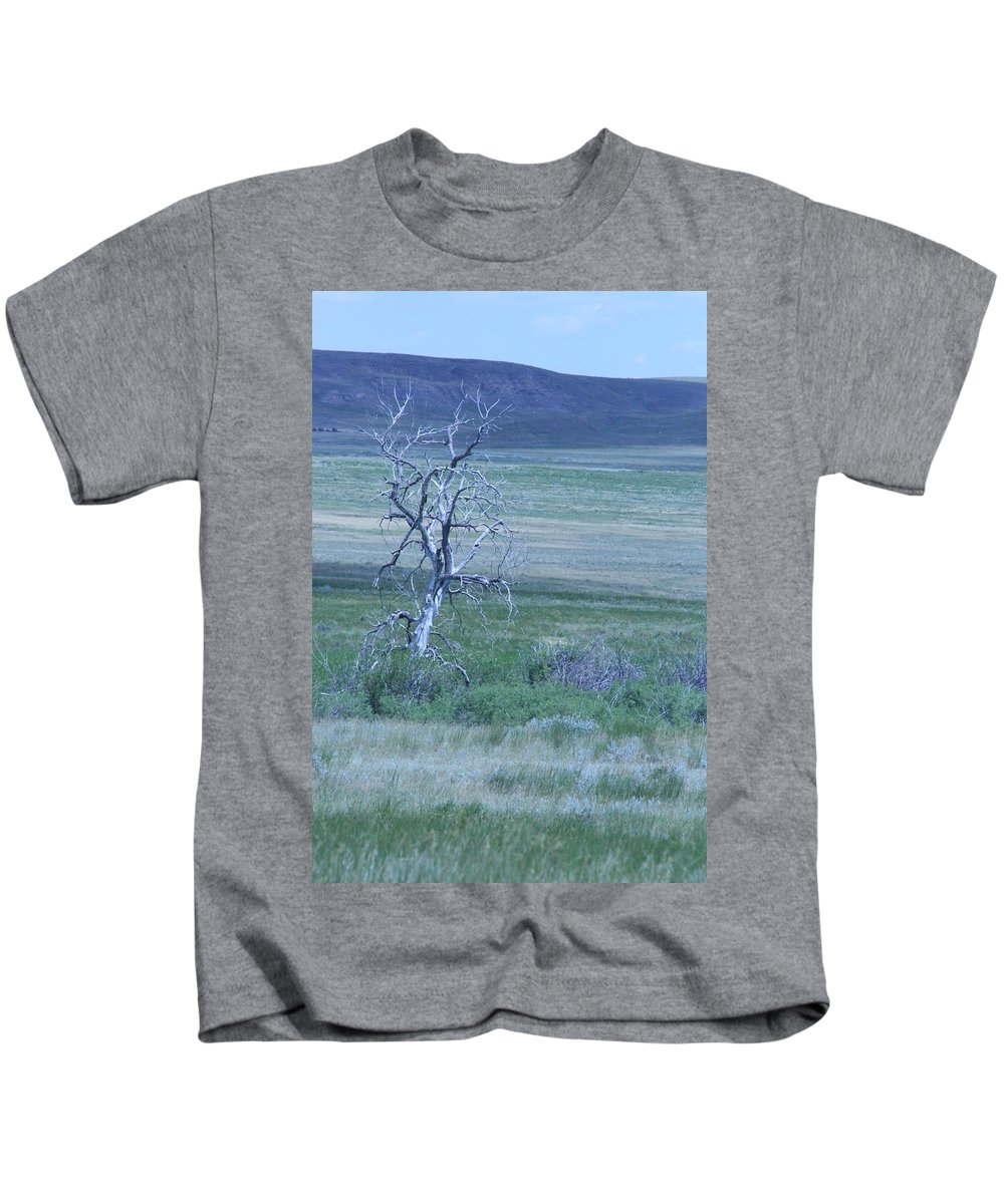 Tree Kids T-Shirt featuring the photograph Twisted And Free by Mary Mikawoz