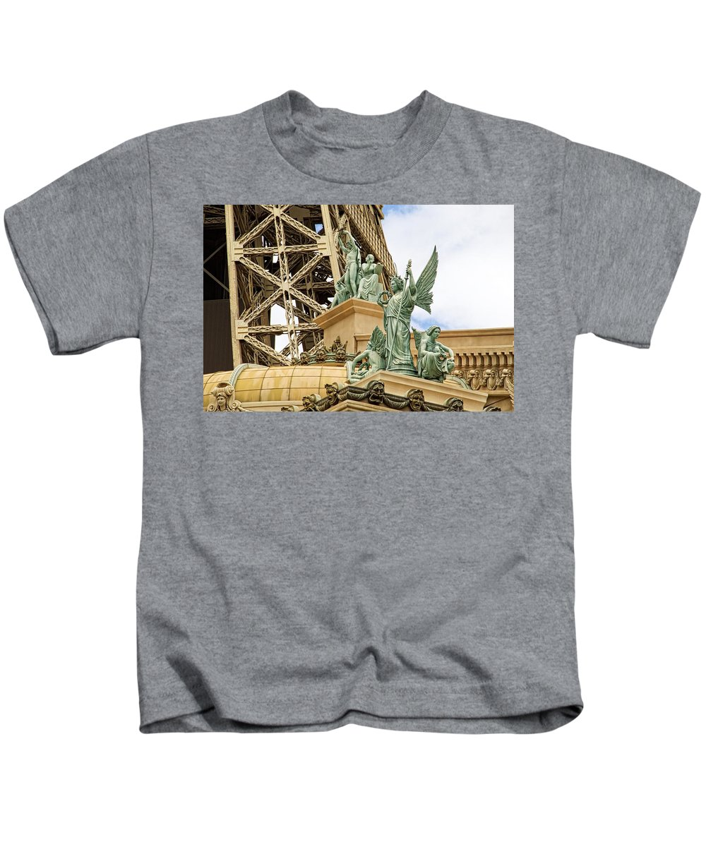 Alicegipsonphotographs Kids T-Shirt featuring the photograph Under The Arc by Alice Gipson
