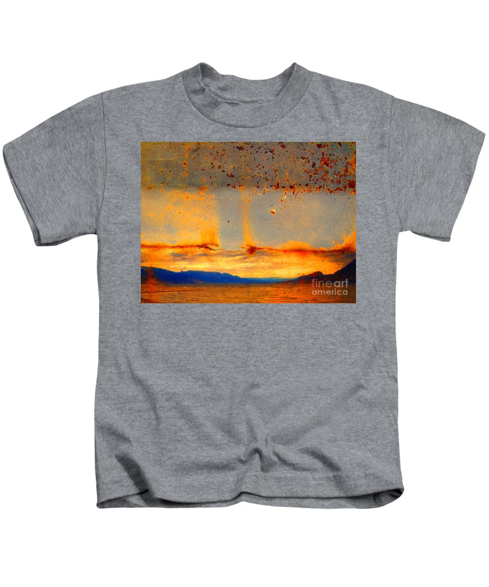 Rust Kids T-Shirt featuring the photograph Urban Landscapes by Tara Turner