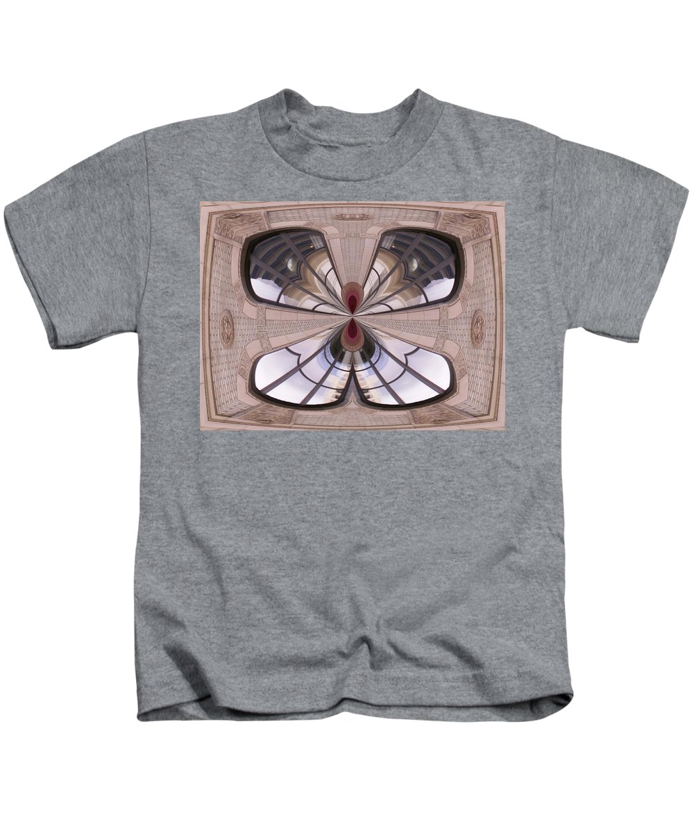 Seattle Kids T-Shirt featuring the photograph Urban Reflection by Tim Allen