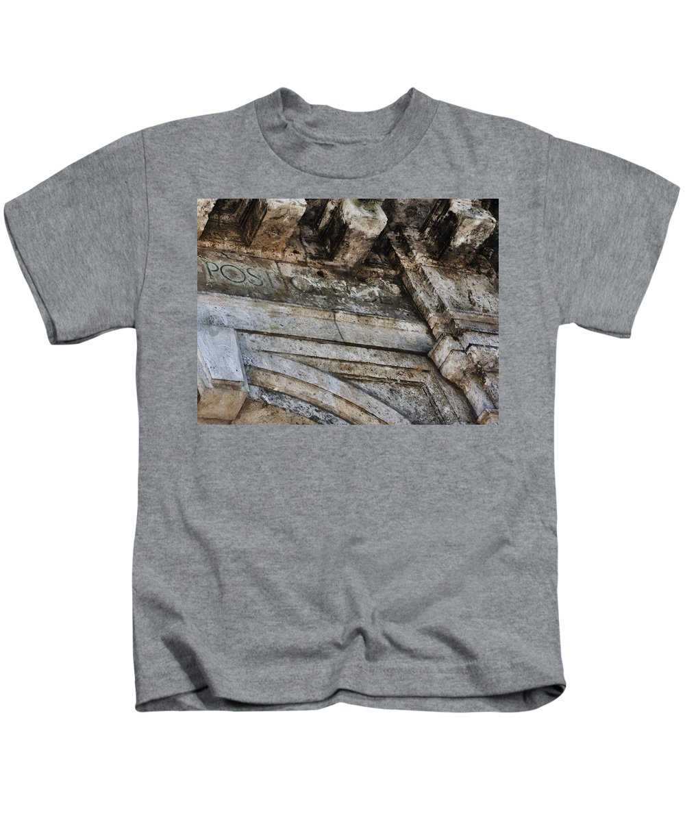 Evie Carrier Kids T-Shirt featuring the photograph Usps Four by Evie Carrier