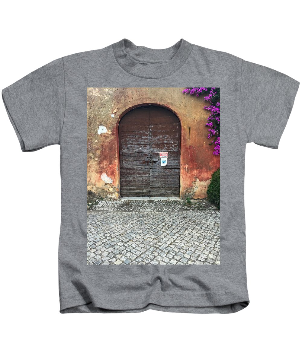 Abbazia Di Fossanova Kids T-Shirt featuring the photograph Vendesi by Joseph Yarbrough