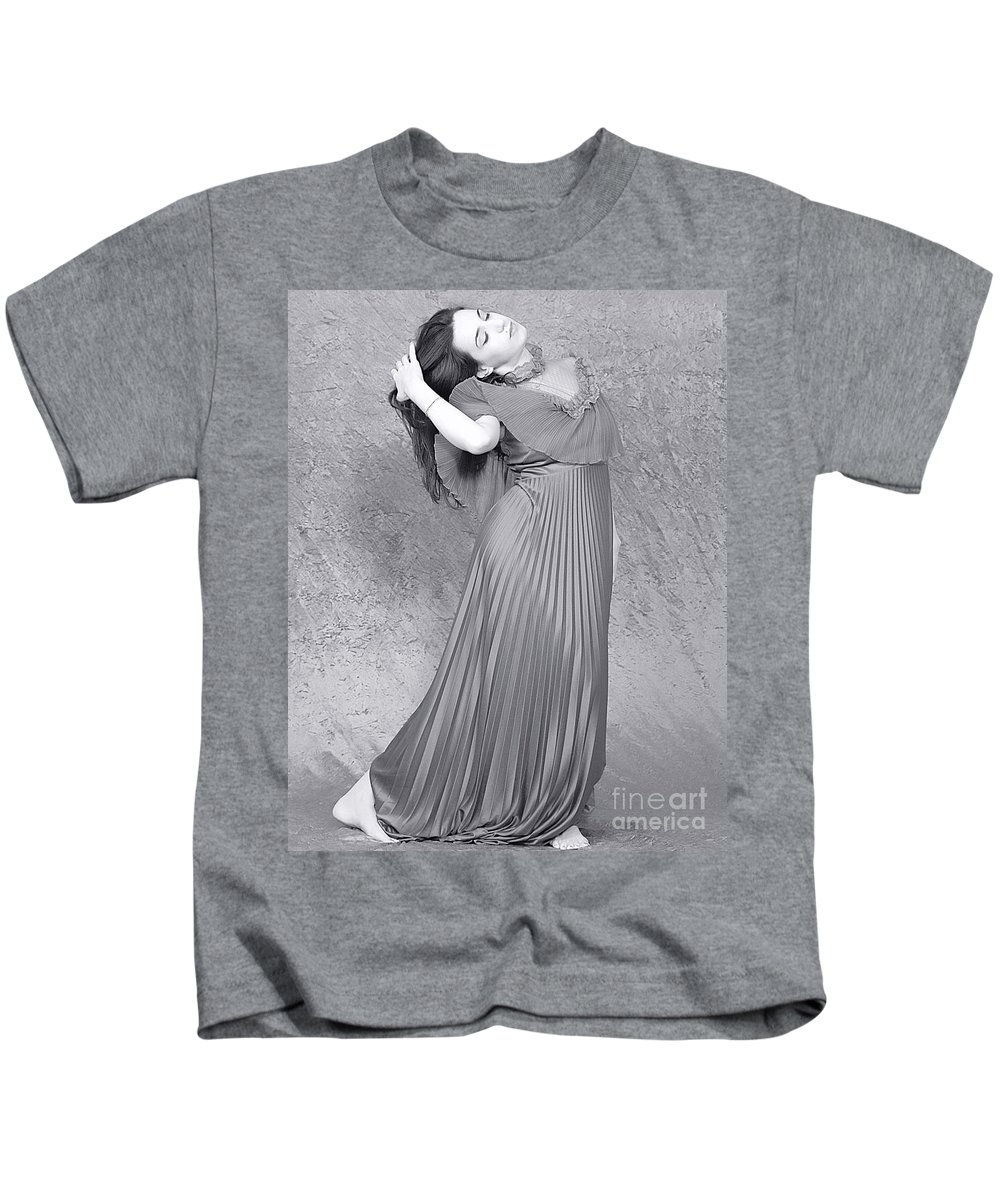 Clay Kids T-Shirt featuring the photograph Vintage Black And White by Clayton Bruster