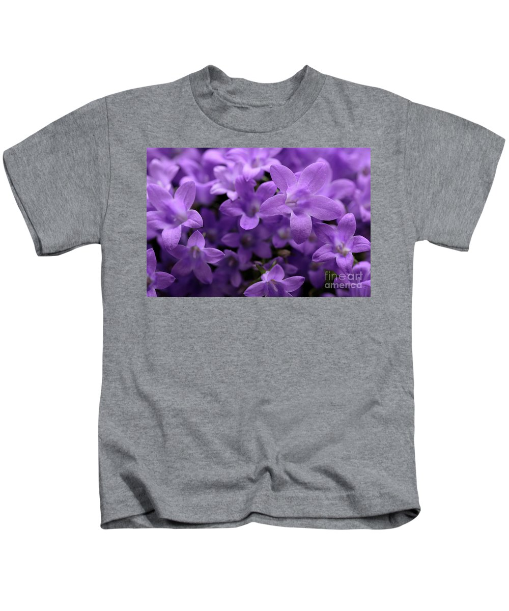 Horizontal Kids T-Shirt featuring the photograph Violet Dream IIi by Stefania Levi