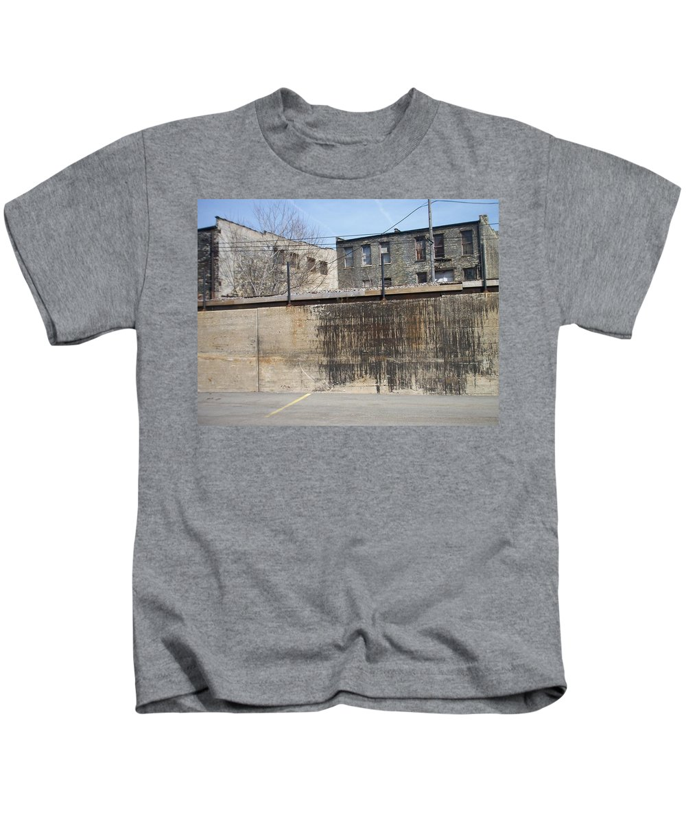 Walker's Point Kids T-Shirt featuring the photograph Walker's Point 3 by Anita Burgermeister