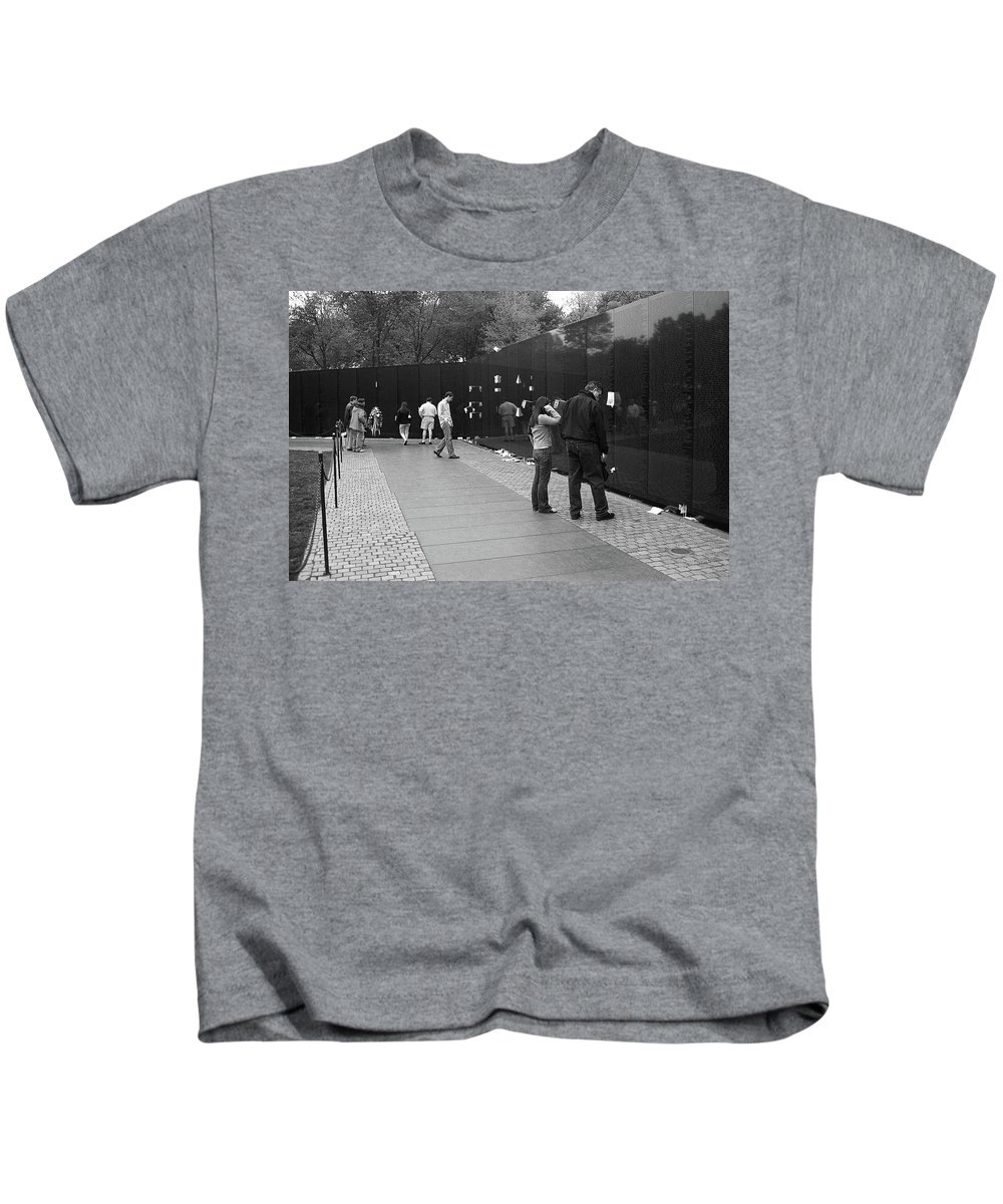 American Kids T-Shirt featuring the photograph Washington Street Photography 2 by Frank Romeo