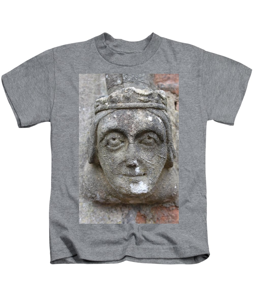 Face Kids T-Shirt featuring the photograph Watching by Lauri Novak