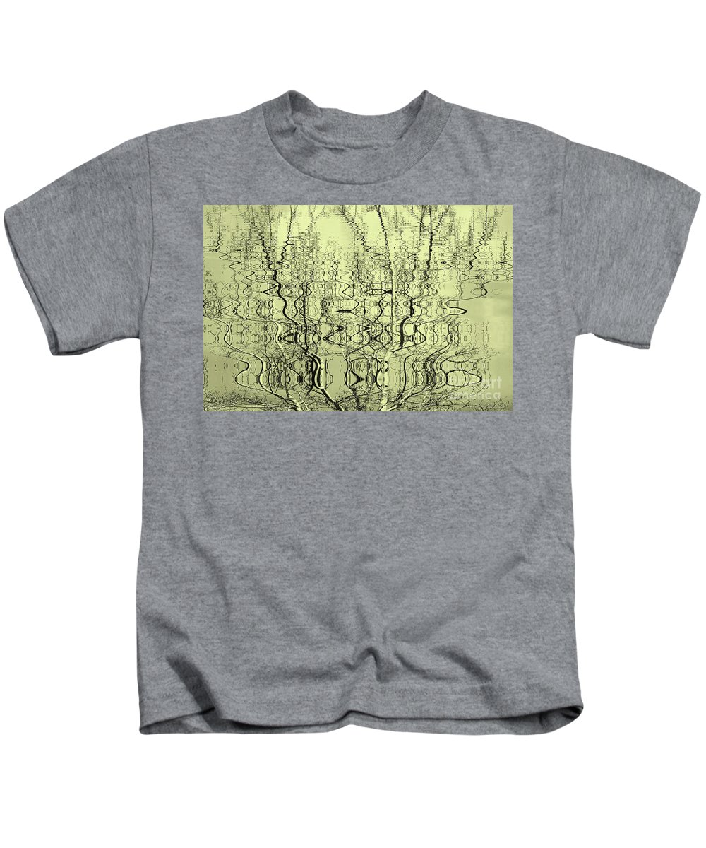 Water Kids T-Shirt featuring the photograph Water Dance by Gaby Swanson