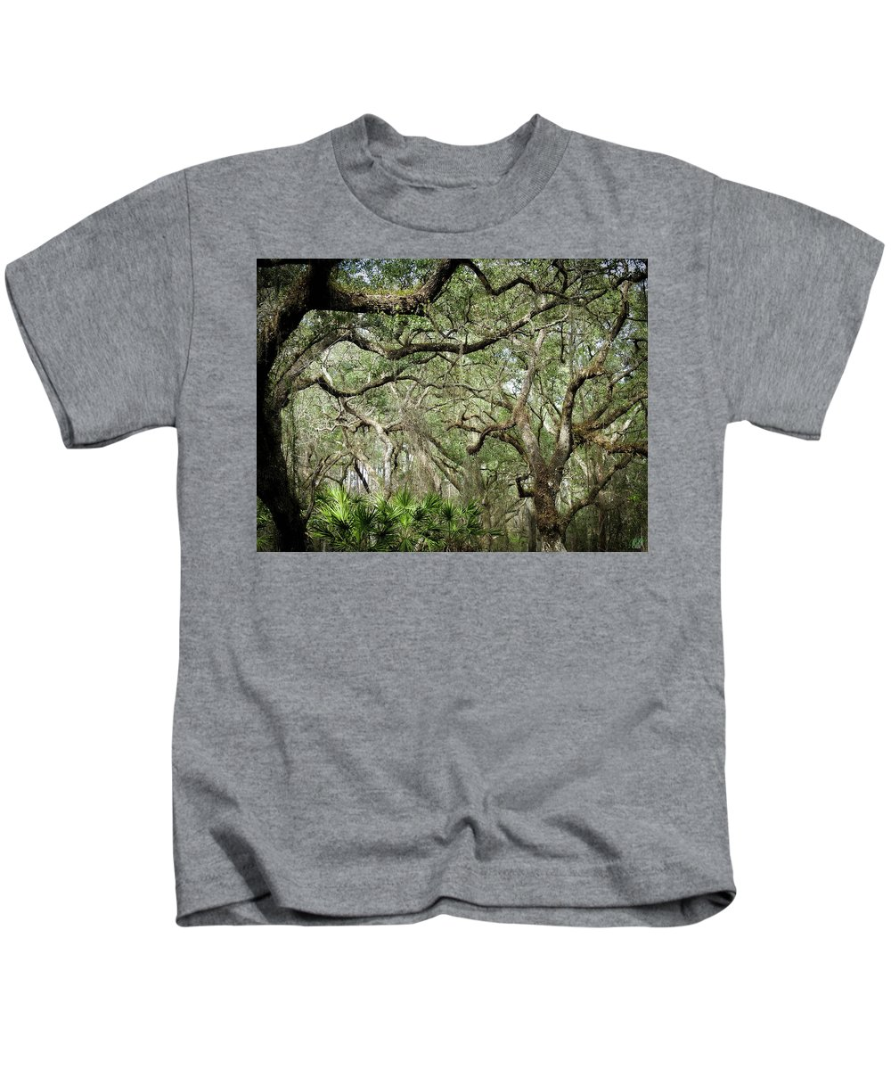 Hammock Kids T-Shirt featuring the photograph Web Of Life by Elie Wolf