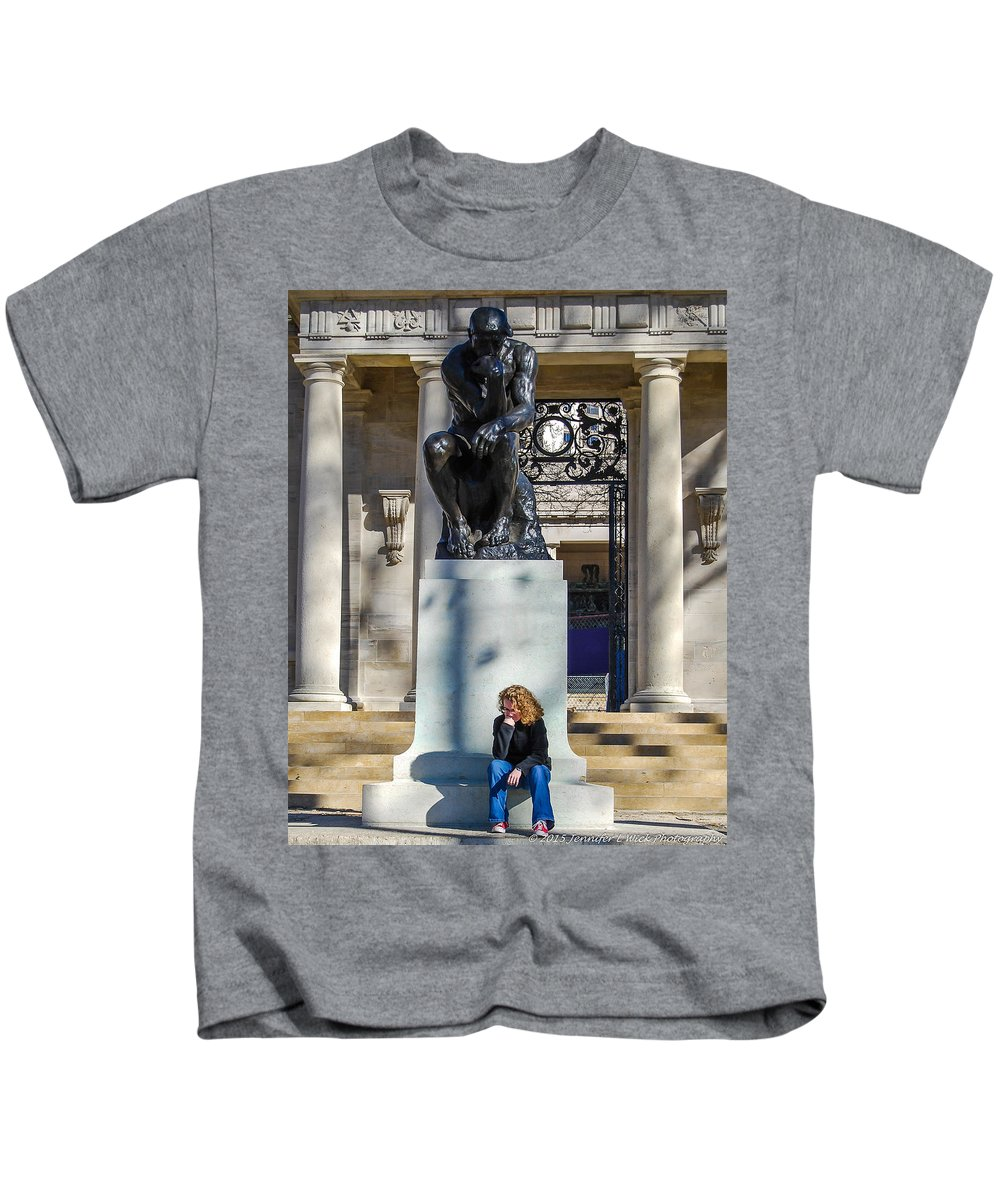 Casting Kids T-Shirt featuring the photograph We're Thinking Together by Jennifer Wick