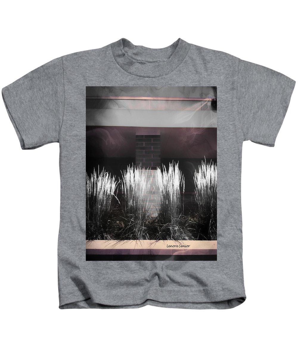 Minimal Kids T-Shirt featuring the photograph What I Saw At Walmart by Lenore Senior