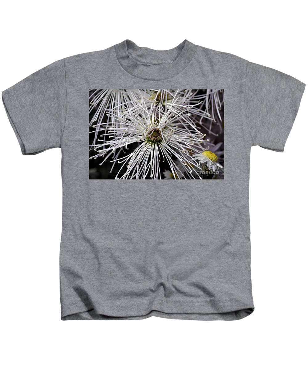 Clay Kids T-Shirt featuring the photograph White Flora by Clayton Bruster
