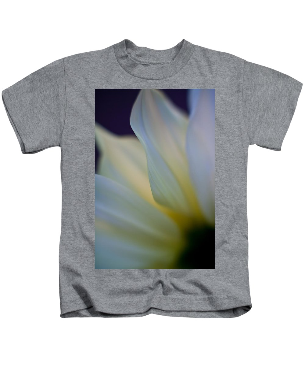 White Kids T-Shirt featuring the photograph White Linen by Mike Reid