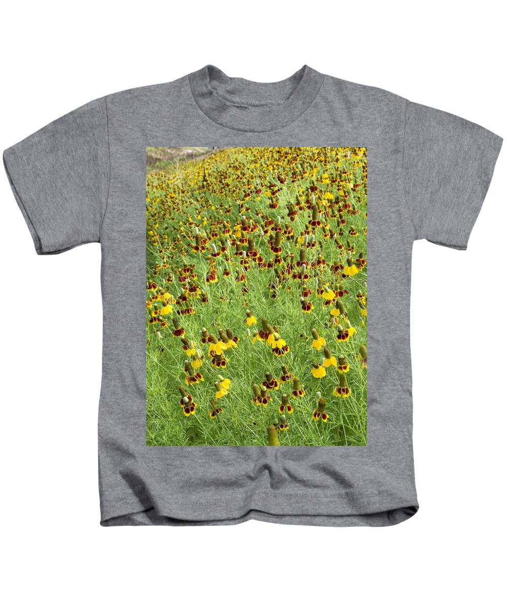 Wildflower Kids T-Shirt featuring the photograph Wildflowers One by Stephen Anderson