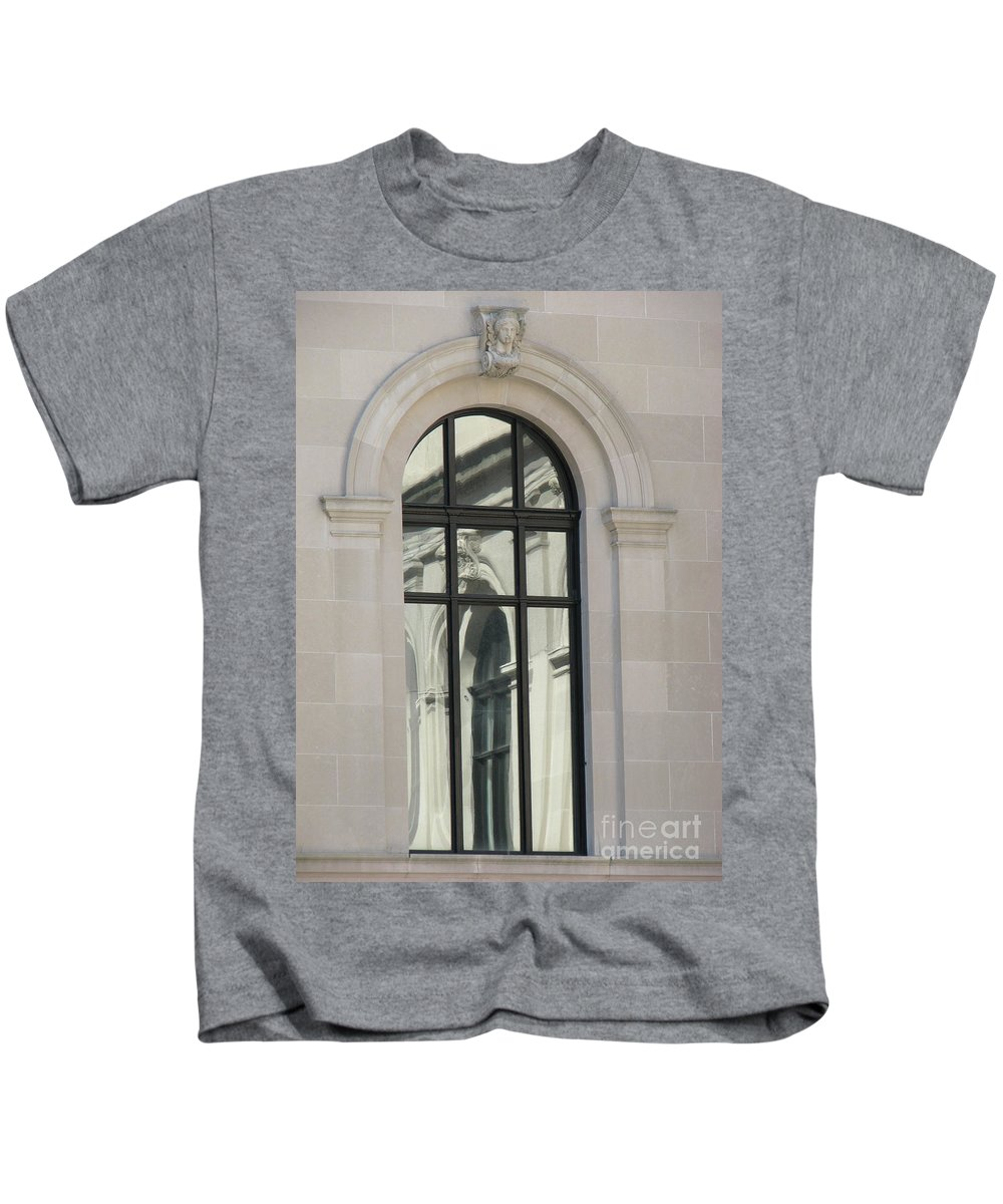 Windows Kids T-Shirt featuring the photograph Window by Amanda Barcon
