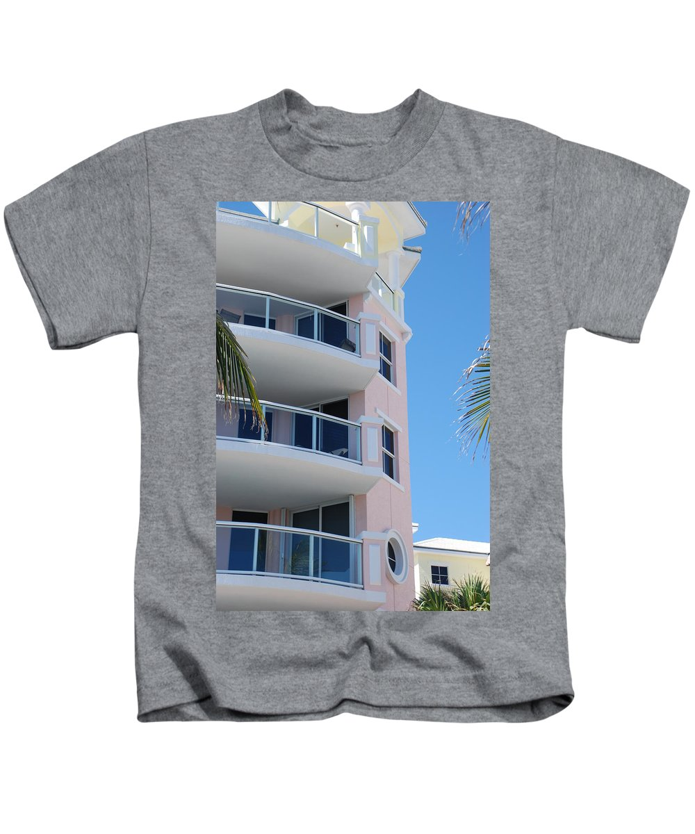 Architecture Kids T-Shirt featuring the photograph Windows 10 by Rob Hans