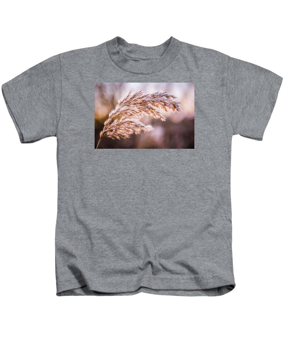 Abstract Kids T-Shirt featuring the photograph Winter Breeze by Jakub Hasak