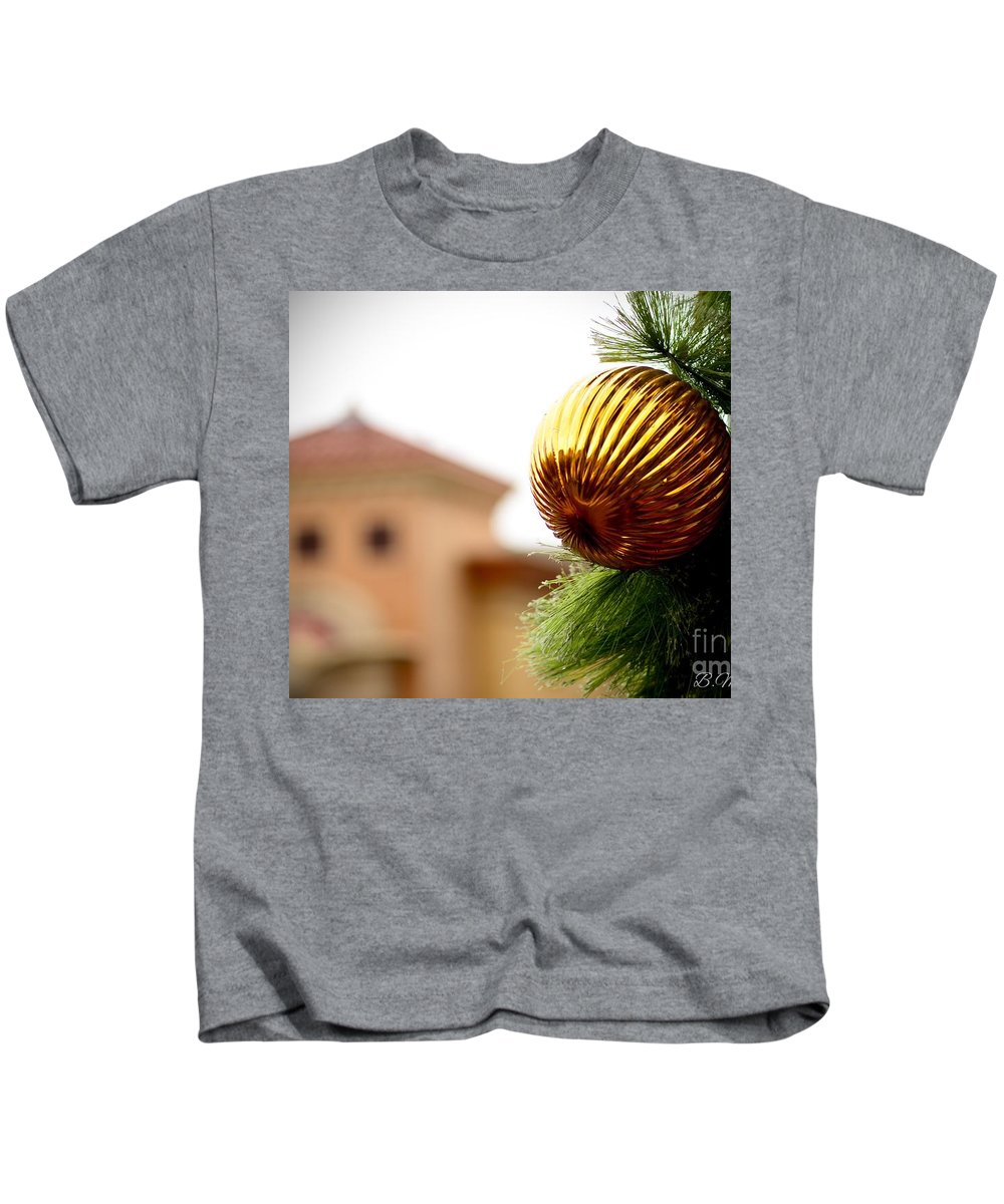 Kids T-Shirt featuring the photograph Winter Theme by Brian Morales