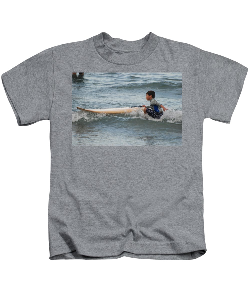 Beach Kids T-Shirt featuring the photograph Wipe Out by Rob Hans