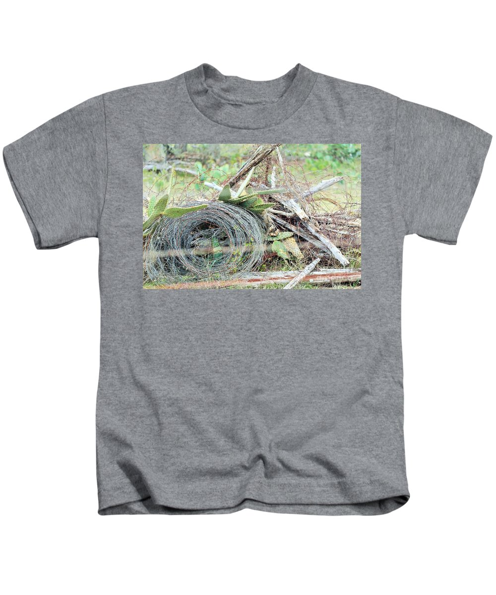 Kids T-Shirt featuring the photograph Wired by Jeff Downs