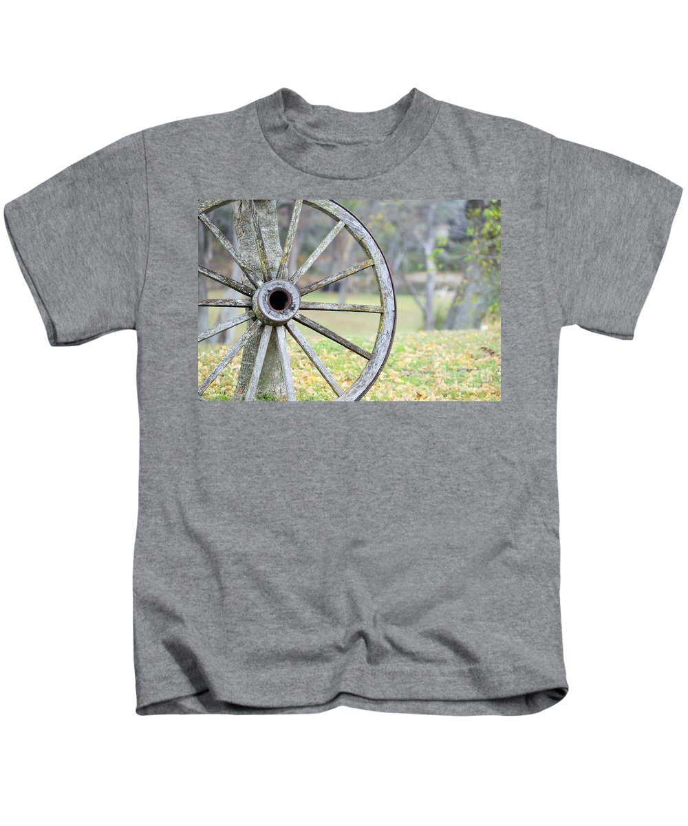 Kids T-Shirt featuring the photograph Ya071 by Jeff Downs