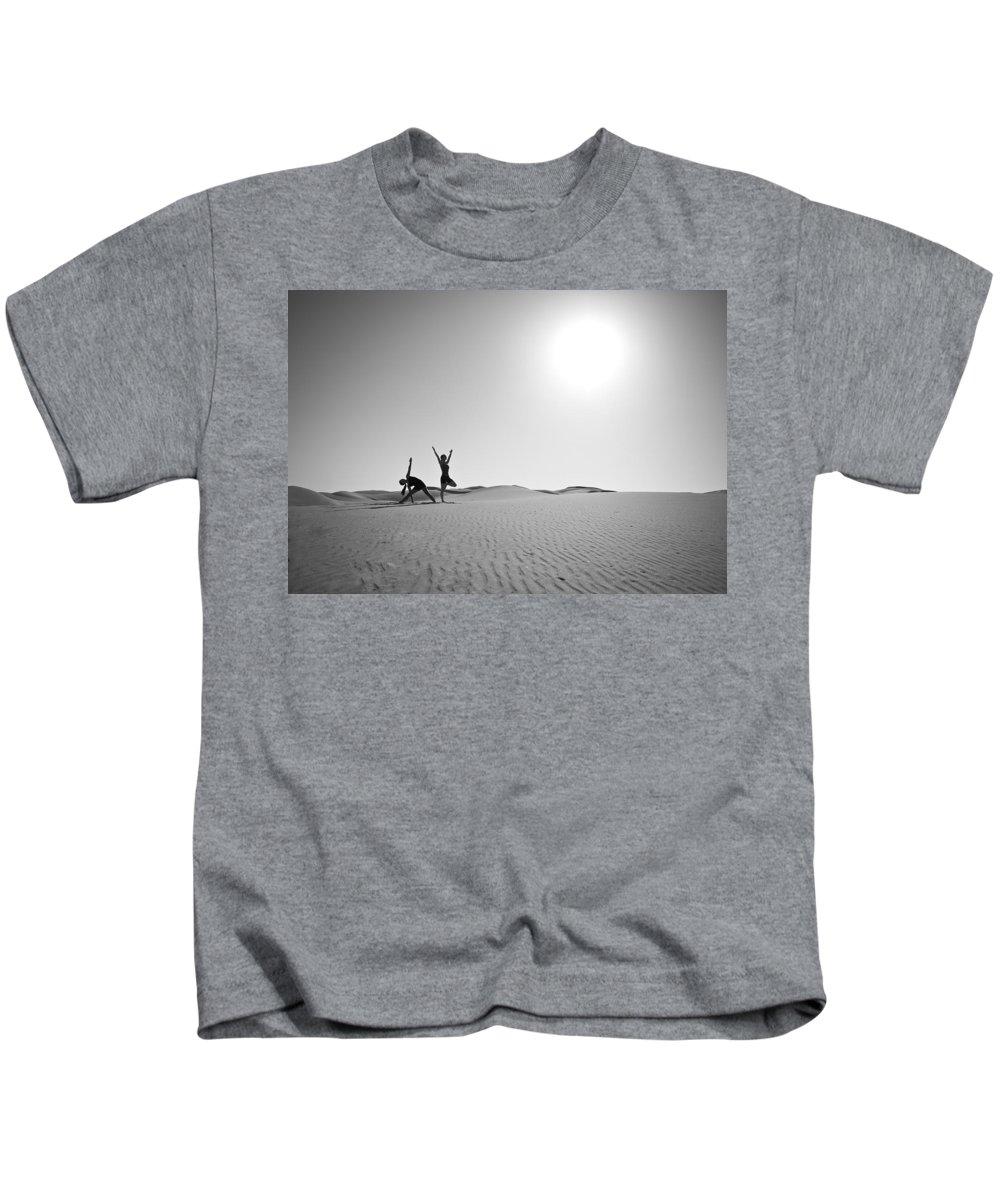 Yoga Kids T-Shirt featuring the photograph Yoga Landscape by Scott Sawyer