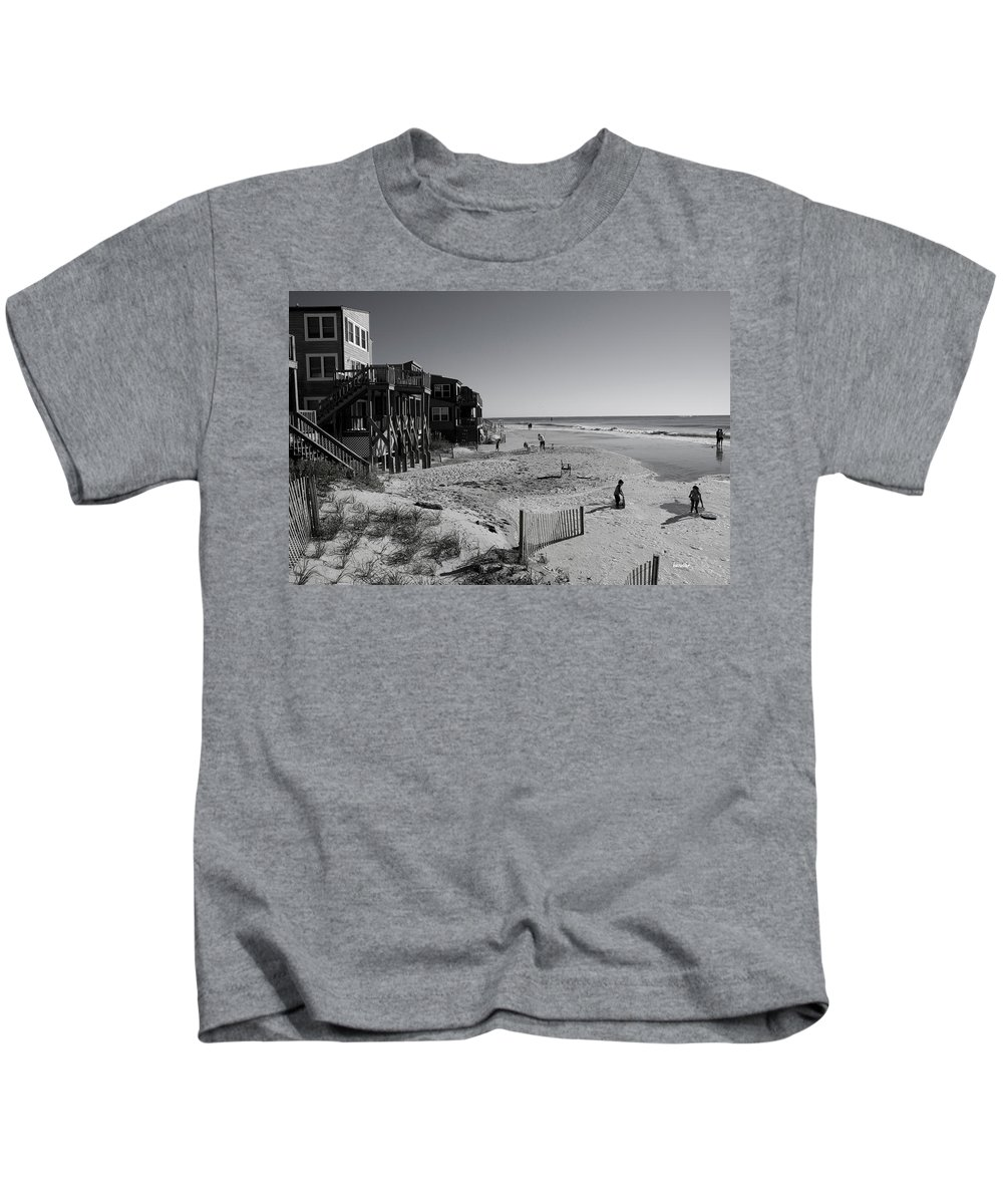 Topsail Kids T-Shirt featuring the photograph Young Artists by Betsy Knapp