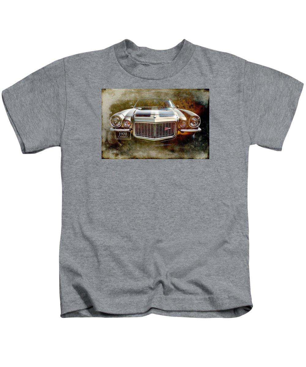 Art Kids T-Shirt featuring the digital art Z Car by Andy Flood