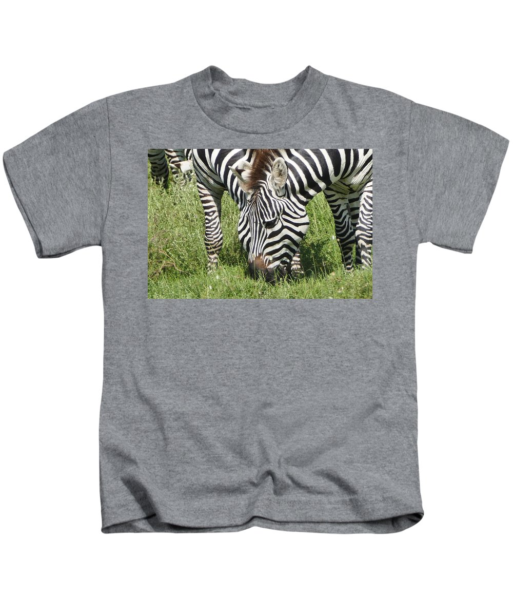 Kids T-Shirt featuring the photograph z2a by Kathy Sidell