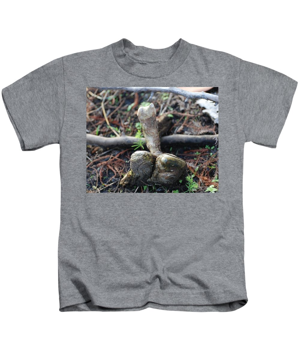 Roots Kids T-Shirt featuring the photograph 0l0 by Rob Hans