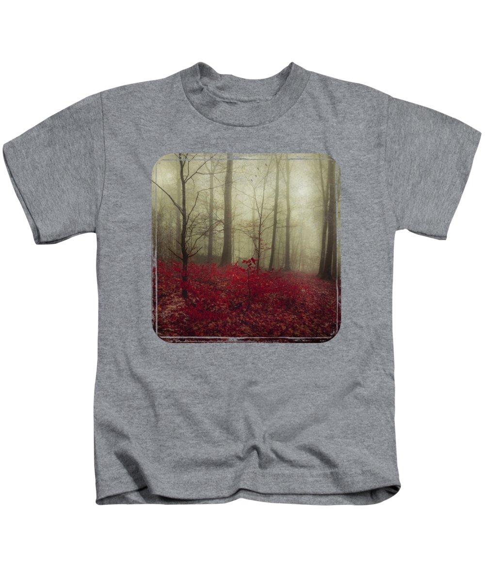 Leaves Kids T-Shirt featuring the photograph Hidden Place by Dirk Wuestenhagen