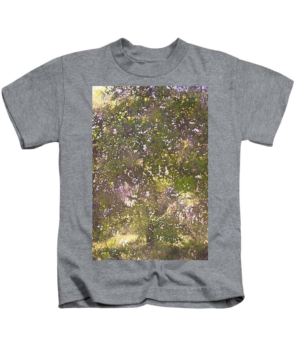 Tree Kids T-Shirt featuring the photograph Oaks 26 by Pamela Cooper